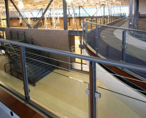 indoor running track by mondo provo rec center