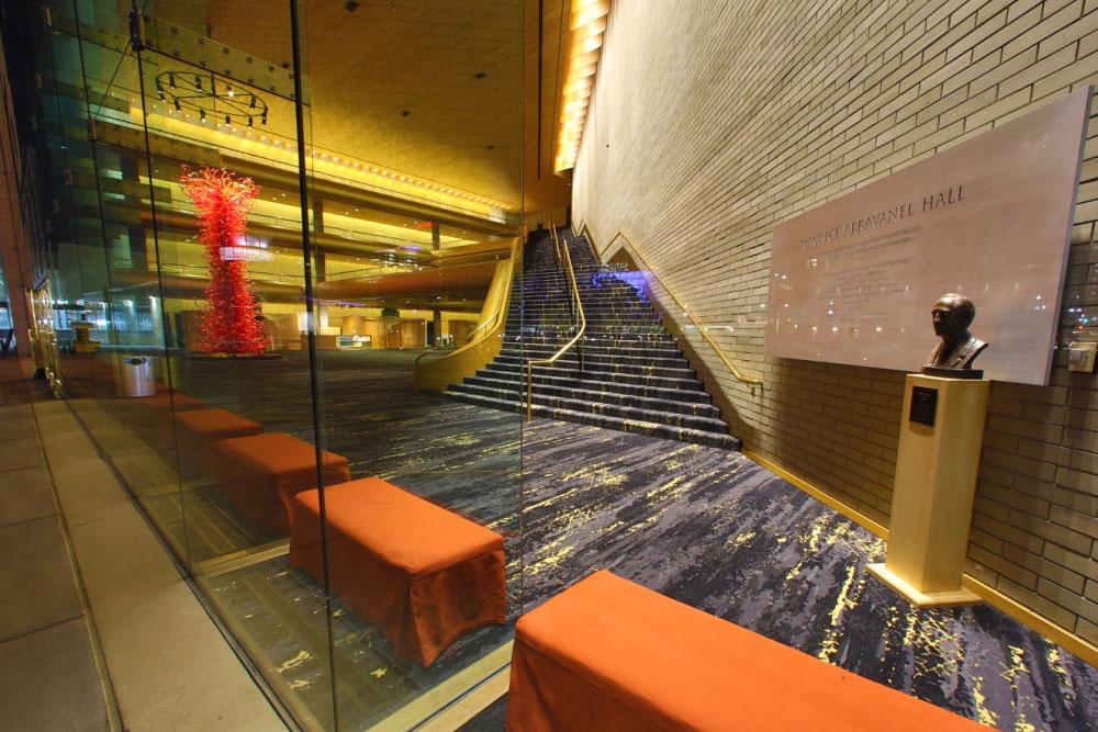 commercial carpet abravanell hall utah 6