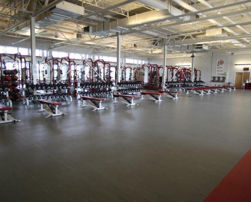 weight room flooring university of utah by mondo flooring
