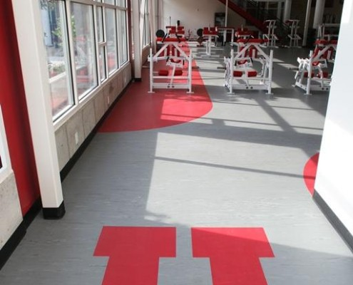 gym flooring university of utah mondo sport