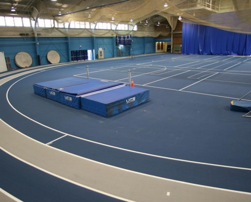 indoor mondo running track