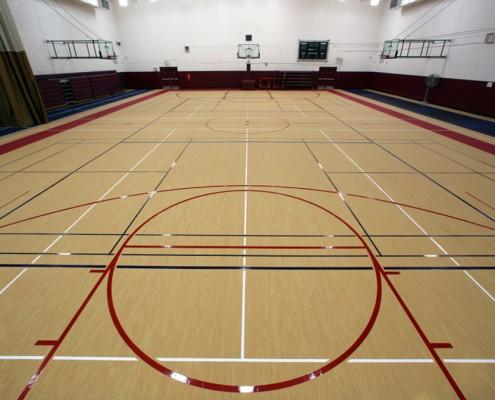 mondo basketball court flooring