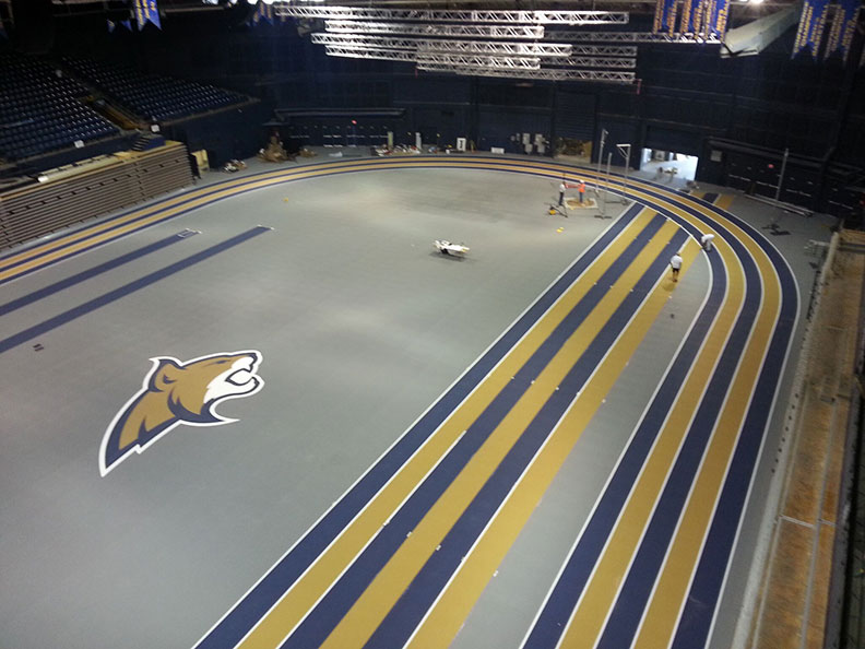 track flooring install montana state