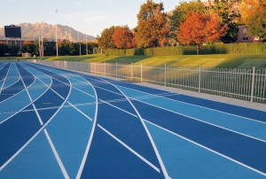 brigham young university mondo sport flooring running track