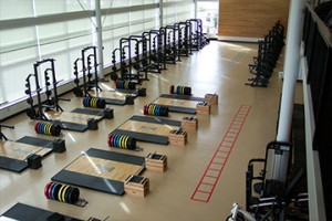university of idaho weight room floor